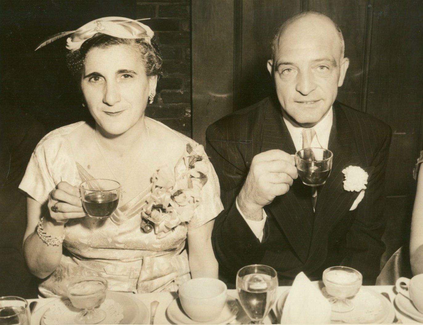 My Grandmother Mary Ridini and Grandfather Leo Ridini