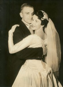 Mom and Dad on their Wedding Day, November 5, 1956