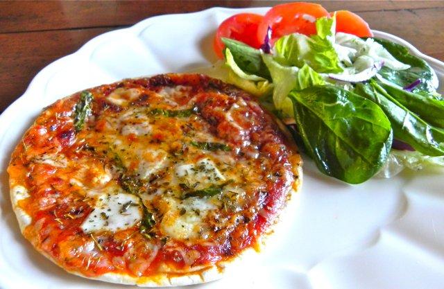 SDL flat bread pizza