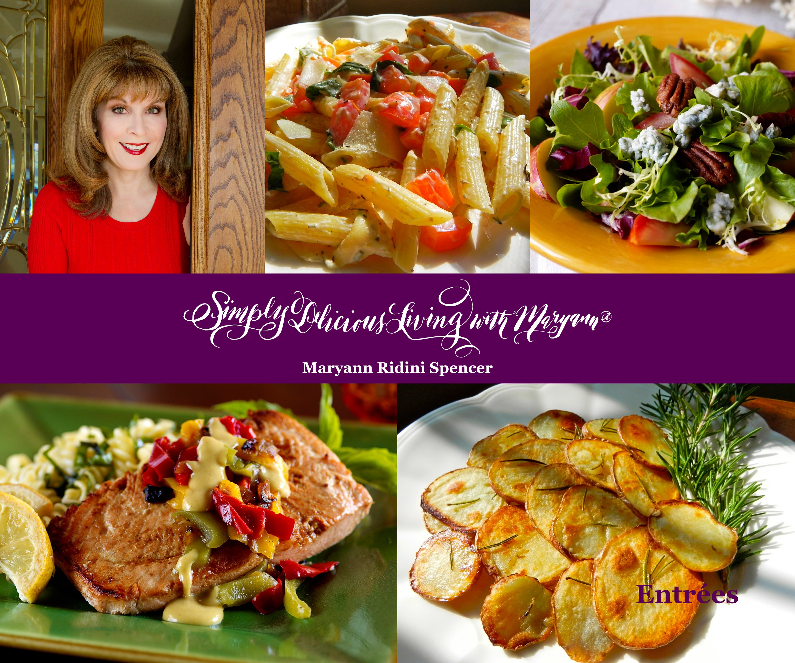 Maryann ridini spencer maryann ridini spencer award winning simply delicious living cookbook forumfinder Image collections
