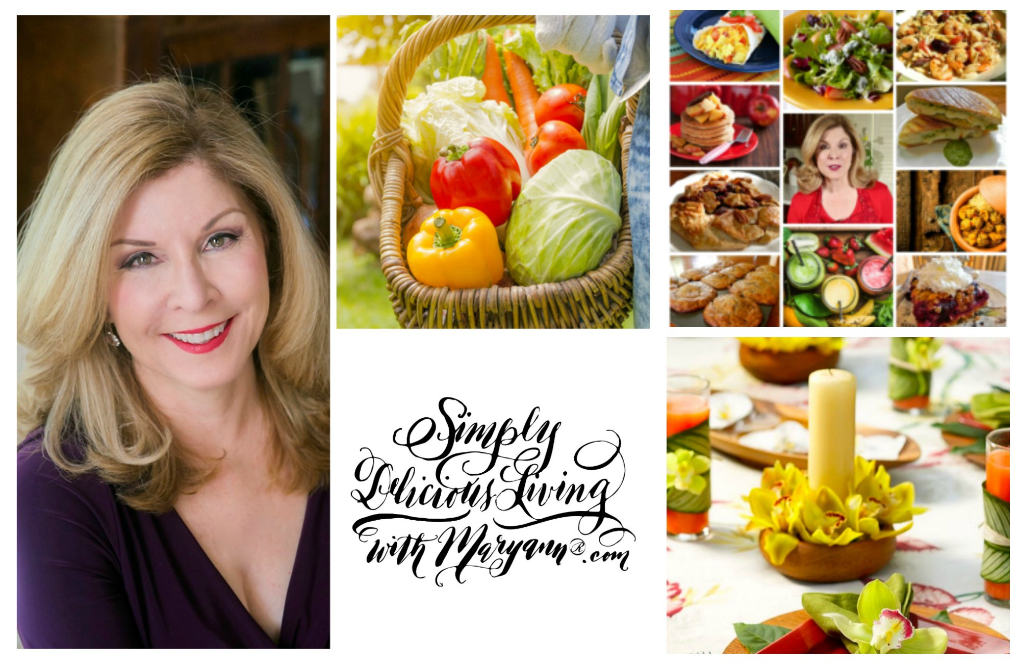 Maryann's Award-Winning Simply Delicious Living® Lifestyle Blog & Telly Award-Winning TV Series