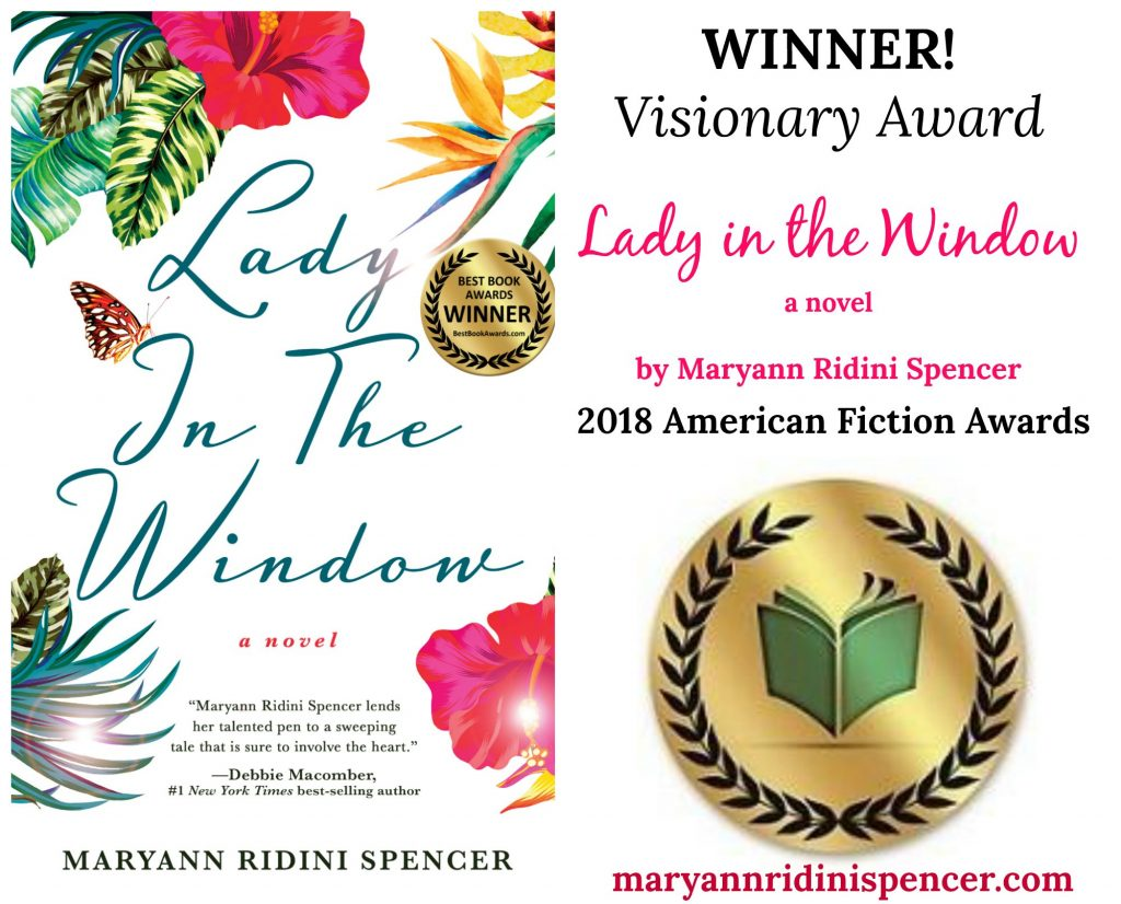 """Lady in the Window"""" WINS the 2018 """"Visionary"""" American Fiction Award ..."""