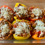 Gram and Gramp's Baked Stuffed Peppers